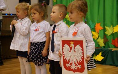 Święto Niepodległości – również w naszym przedszkolu